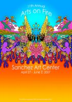 Sanchez Art Center Arts on Fire