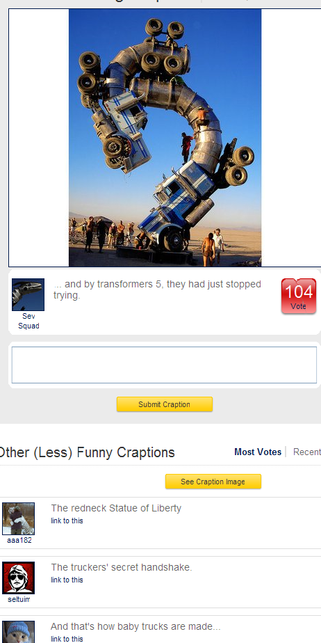 Craptions - Big Rig Jig - thumbnail